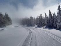 W Górach Bystrzyckich bajkowa sceneria i bardzo dobre warunki na trasach biegowych.