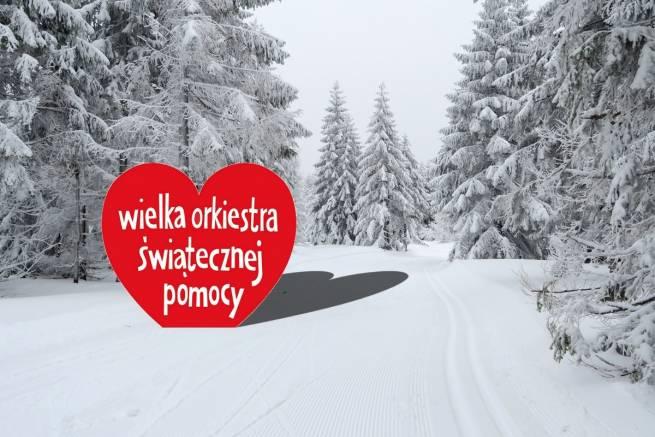Narciarze dla Wielkiej Orkiestry Świątecznej Pomocy