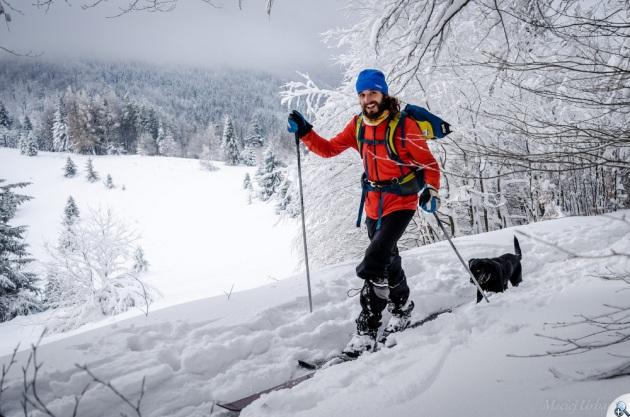 fot.M.Urbanik Zimowy Beskid Wyspowy