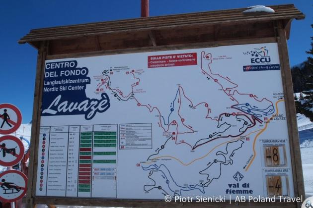 Mapa tras biegowych