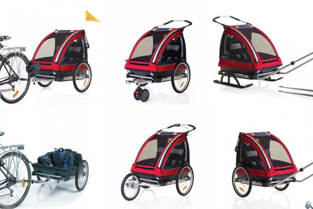 Wózek Nordic Cab może spełniać wiele funkcji