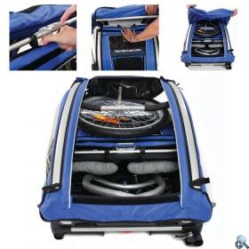 Modułowa budowa wózka pozwala na szybką i łatwą zmianę jego funkcji.