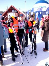 Na zdjęciu od lewej Krzysztof Koc, Grzegorz Meller i Krystyna Nowacka (autorka tekstu)