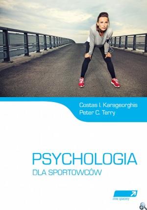 """Okładka książki """"Psychologia dla sportowców"""""""