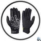 Cienkie i dobrze dopasowane rękawiczki startowe