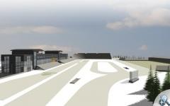 Tak ma wyglądać planowany stadion zimowy na Polanie Jakuszyckiej.